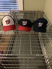 Lot 3 Washington Nationals Hats