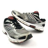 Saucony Mens Cohesion 9 Running Shoes Size 10.5 Wide S25272-1 Gray Black