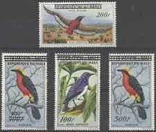Timbres Oiseaux Mali PA5/8 ** lot 28056 - cote : 47,30 €