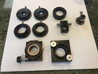 Oriel Optic Mounts & adapters ~ Lot of 9