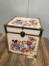 80's Vintage 16� X 16� X 16� Disney Mickey Mouse Minnie Donald Goofy Toy Box!