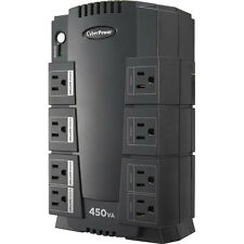 CyberPower 8-Outlet 450VA PC Battery Back-Up System and Surge Protector