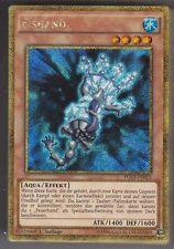 YU-GI-OH Eishand Gold Secret Rare PGL3-DE023