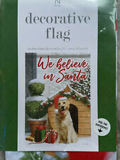 New In Package-Dog-Puppy-Golden Retriever-House Flag-28 X 40-Adorable!
