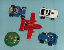 original G1 Transformers minibot lot x5 Powerglide Tailgate Pipes Beachcomber ++