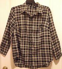 Ralph Lauren Silky Feel Button Down Plaid Shirt Size 2X NEW $110 retail