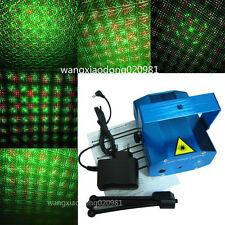 Mini RG Projector Holographic Laser Stage Light DJ Disco Party Club Pub Bar New