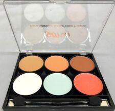 Saffron Face Contour & Corrector Palette White Green Pink 8012c