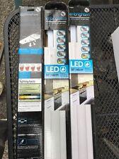 "3x GE 26935 Enbrighten Under-Cabinet Linkable Plug-In LED Light Fixture, 18"""