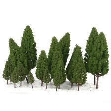 40Pcs Plastic Tree Models HO OO N Scale Layout for Train Railroad Landscape