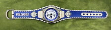 #D196. CANTERBURY BULLDOGS RUGBY LEAGUE WRIST WATCH, NOT WORKING