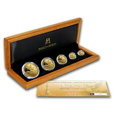 2016 Mexico 5-Coin Gold Libertad Proof Set (1.9 oz, Wood Box) - SKU #103090
