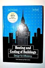 HEATING & COOLING OF BUILDINGS: DESIGN FOR EFFICIENCY Book by Kreider 1994 RB113