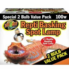 Zoo Med (SL2100) Repti Basking Spot Lamp Value Pack 100W - (0097612362008)