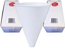 Dot Red - Paper Cone Oil Funnel 100ct 10 oz Disposable - Tazas de cono de embudo