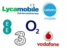 GOLD EASY DIAMOND Number Lycamobile Lebara Three EE O2 UK Pay As You Go Sim Card