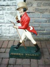 JOHNNIE WALKER ADVERTISING FIGURINE STATUE CIRCA 1900'S OLDER THAN MOST ON EBAY