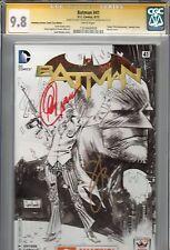 BATMAN NEW 52 #41 CGC  SS 9.8 AMAZING ARIZONA COMIC CON SKETCH EDITION