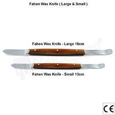 X2 Laboratory Instruments Wax Knives Mixing Knives Fahenstock Large & Small New
