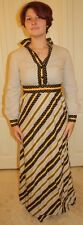 Vintage 70's Jay Kobrin for Starr Boutique Maxi Dress