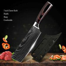 7 '' Küchenmesser Messer Edelstahl Japanisches Damaskus Stil Kochmesser Zuhause
