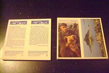 Discovering Our Coast Double Card Full Set By Brooke Bond
