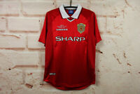 Manchester United Retro Jersey Final Champions League 1999 Soccer Football Shirt