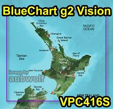 Garmin BlueChart g2 Vision VPC416S New Zealand North