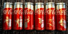 COCA COLA LIGHT 6 CAN GERMANY SOCCER FOOTBALL TEAM COKE UNOPENED EMPTY