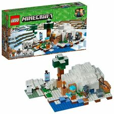 LEGO Minecraft The Polar Igloo 21142 Building Kit (278 Piece) NEW RETAIL