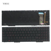 NEW For ASUS Rog GL753 GL753V GL753VE GL753VD US Laptop Keyboard with backlit