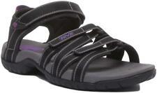 Teva Tirra S-Tera Strapy Sandals In Black Grey Size Uk 3 - 8