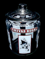 CHIVAS REGAL BAR TOP APOTHECARY STYLE ADVERTISING JAR ~ FREE PRIORITY MAIL