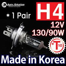 H4 12V 130 90 W Halogen Headlight Globes T10 W5W CLEAR Bulbs Parking Tail Light