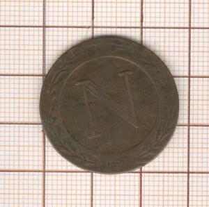 Napoleón 5 Céntimos 1808 BB Estrasburgo Por Tiolier