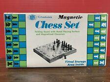 Vintage 1973 Chadwick Magnetic Chess Set