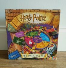 Harry Potter And The Philosopher's Stone Trivia Game By Mattel (Complete)