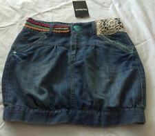 DESIGUAL ~ SPAINISH GIRLS 11-12 YRS Buenos Aires Denim Short Skirt - NWT