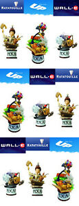 Disney Pixar Square Enix Set Ratatouille, Up And Wall-E LOOSE FULL CASE