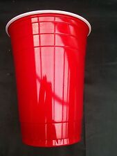 18 X red  Plastic Disposible party  tumbler   Glass 16oz  For All Occasion