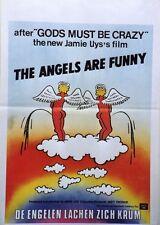 """""""LES ANGES SE FENDENT LA GUEULE (FUNNY PEOPLE 2)"""" Affiche originale (Jamie UYS)"""