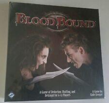 Bloodbound (Board Game) Fantasy Flight social party vampire hidden identity NEW