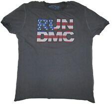 Amplified RUN DMC Strass USA COOL hip hop rap 80'er Rock Star Vip T-Shirt G. L/XL