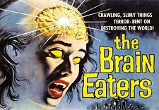 Film Brain Eaters Rétro Horreur Poster Print