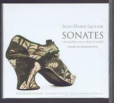 JEAN MARIE LECLAIR CD NEW SONATAS FOR VIOLIN AND BASSO CONTINUO