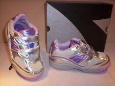Diadora Lunar zapatillas deportivas gimnasia niña bebé plata zapatos 21