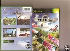 Wings OF WAR XBOX/X Box Gioco di Guerra Mondiale volo RARO