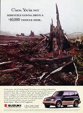 1997 Suzuki Sidekick Sport - Branches - Classic Vintage Advertisement Ad D114