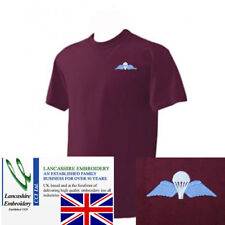 Airborne Forces Colour Para Wings T Shirt Extra Large