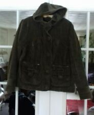 LADIES CHUNKY CORDUROY  JACKET SIZE MEDIUM PER UNA VGC